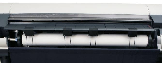 a wide-format printer